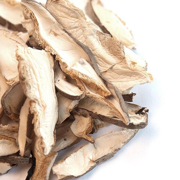 Shiitake Mushrooms, Sliced by Spice Jungle, LLC