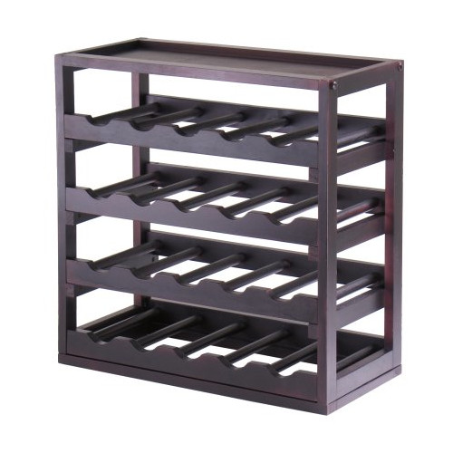 Luxury Home Kingston 20 Bottle Wine Rack