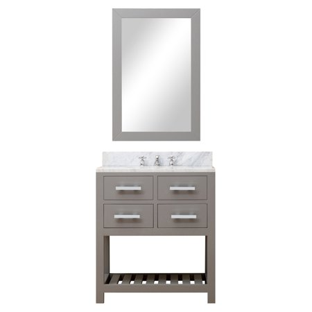 Water Creation Madalyn 30 in Single Bathroom Vanity