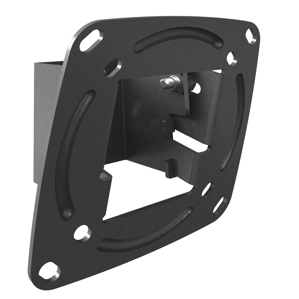 "Barkan 13 "" - 29"" Tilt Flat / Curved TV & Monitor Wall Mount, black, up to 33 lbs, Lifetime Warranty"