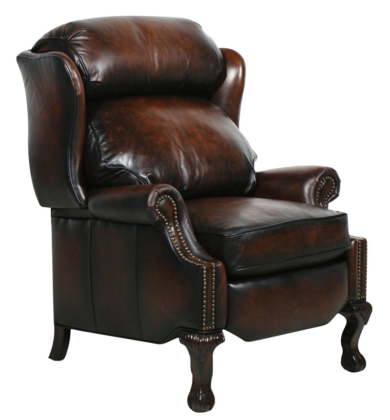 Danbury II Power Leather Recliner - Stetson Coffee (curbside delivery)