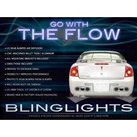 2005 2006 2007 2008 2009 2010 Pontiac G5 Rear Bumper Air Diffuser Exhaust Body Panels Kit
