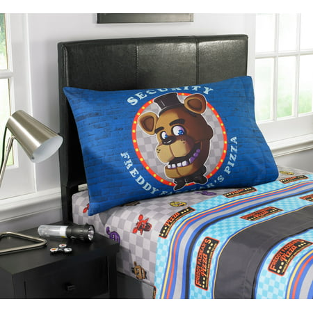Five Nights At Freddy's Pizza Security Kids' Bedding Sheet Set, 1 Each - Northern Night Sheets