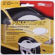 TRIMBRITE T1210 Pinstripe Tape, White, 0.25 In. X 36 Ft.