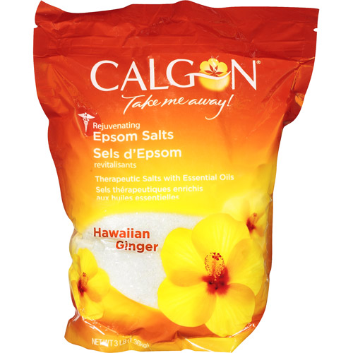 Calgon Rejuvenating Hawaiian Ginger Epsom Salts, 3 lb