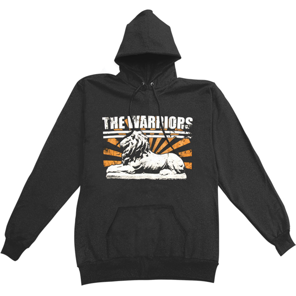 Warriors Men's  Hooded Sweatshirt Black
