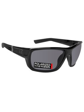 04e51f5955 Product Image Under Armour 8630098-000108 launch shiny black rubber frame gray  storm polarized lens