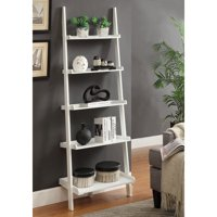 Product Image Convenience Concepts French Country Bookshelf Ladder White
