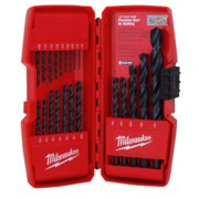 21 PC BLACK OXIDE DRILL BIT SET