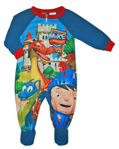 Mike the Knight Baby Toddler Boys Footed Blanket Sleeper Pajama 12m