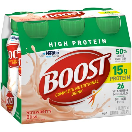 Chocolate Boost Nutrition Facts