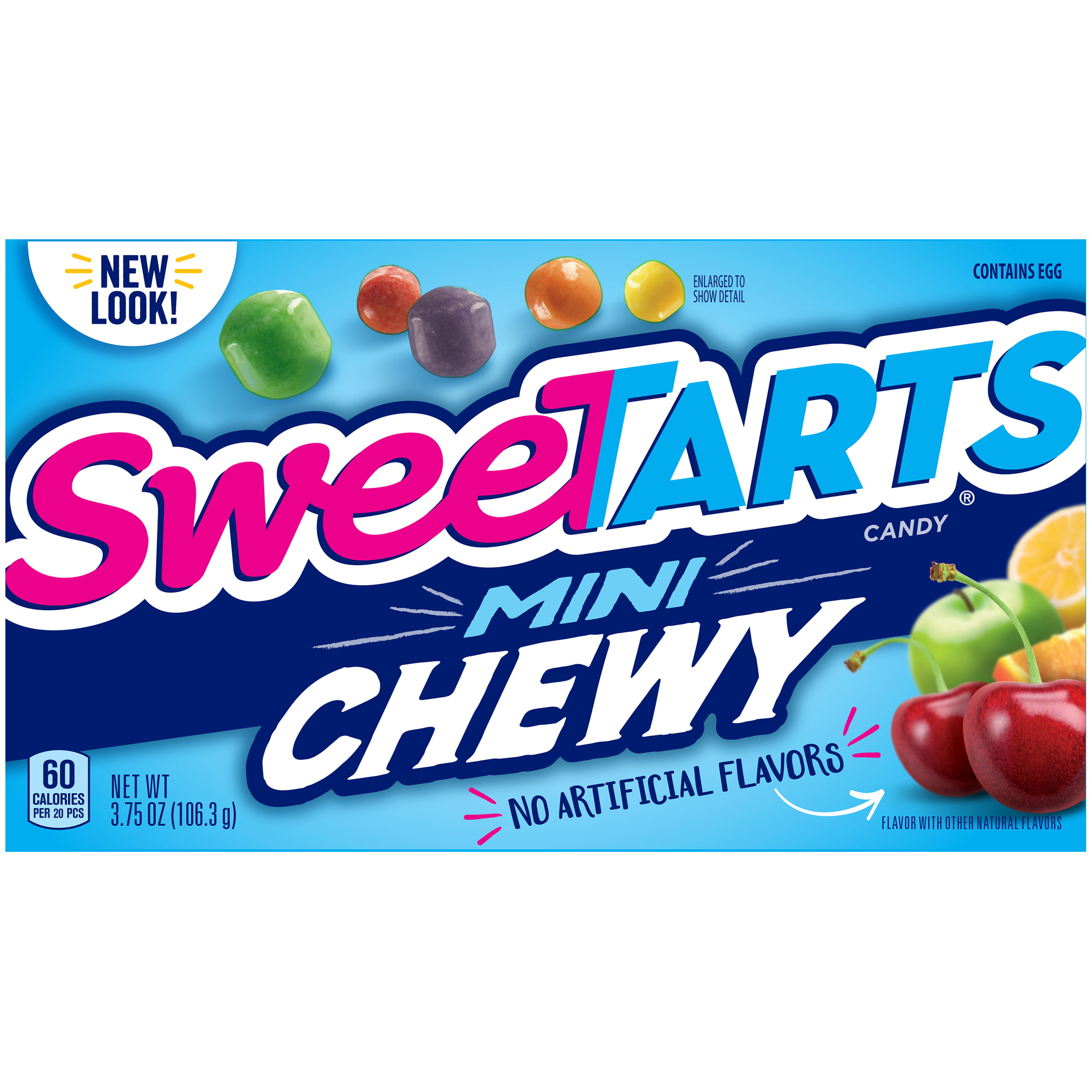SWEETARTS Mini Chewy Candy 3.75 oz. Box - Walmart.com