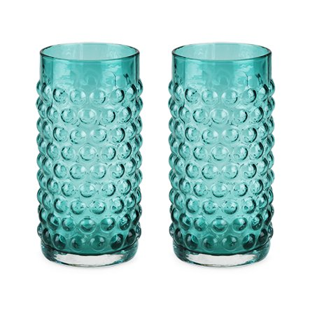 Country Cottage: Hobnail Glassware Set by Twine (Glass Hobnail Basket)