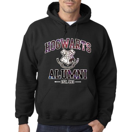 New Way 214 - Hoodie Hogwarts Alumni Galaxy Harry Potter Sweatshirt - Spiderman Hoodie Mens