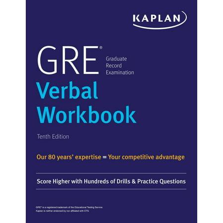GRE Verbal Workbook - eBook