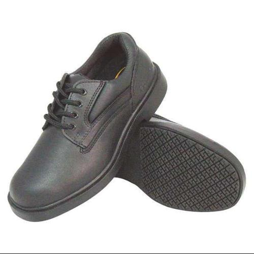 GENUINE GRIP 7100-11W Oxford Shoes, Black, Mens, 11, W, PR