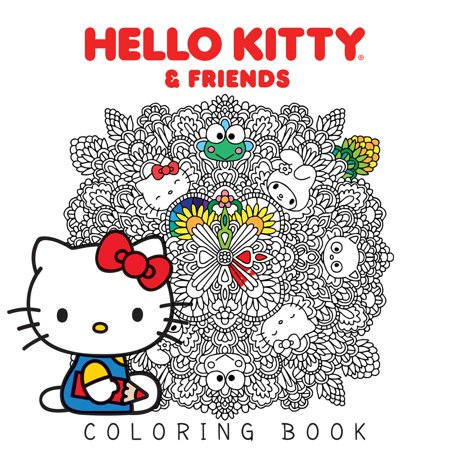 Hello Kitty & Friends Coloring Book (Blood On The Dance Floor Hello Kitty)