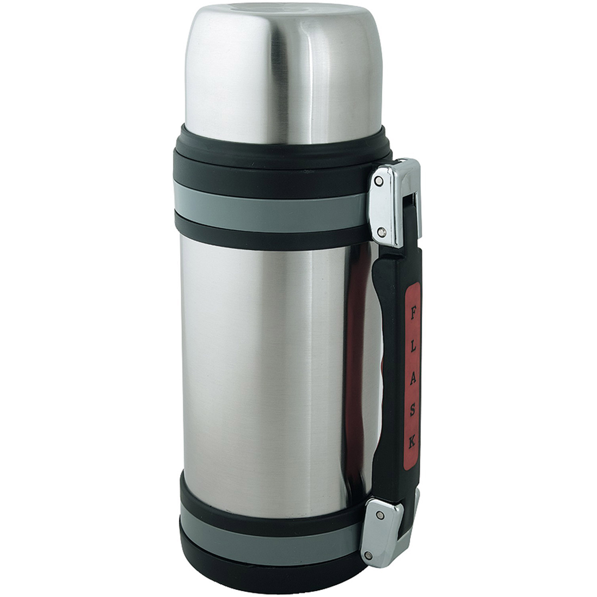 Brentwood FTS-1500 1.5-Liter Vacuum Bottle with Handle, Stainless Steel