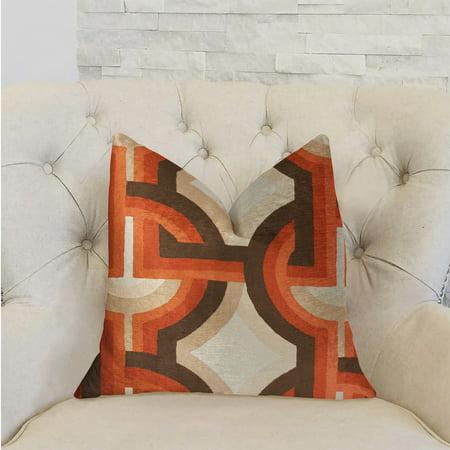 Plutus PBRA2258-2026-DP Delightful Chain Multicolor Luxury Throw Pillow, 20 x 26 in. Standard - image 1 de 3