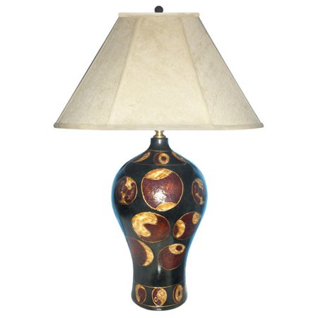 - JB Hirsch Home Decor Creation Hand Painted Porcelain 29'' Table Lamp