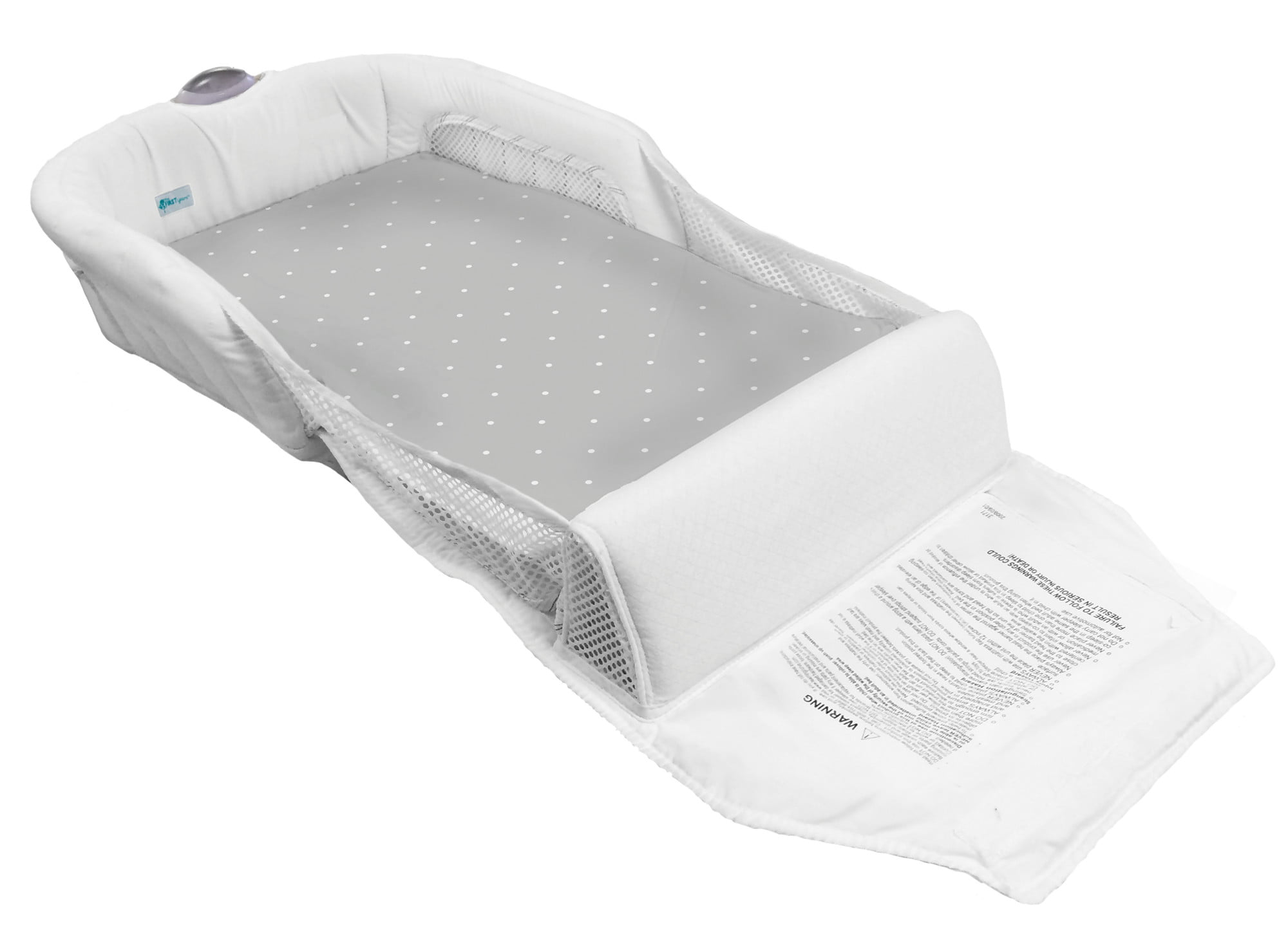 The First Years Cozy Baby Sleeper Portable And Washable Infant Bed Walmart Com Walmart Com