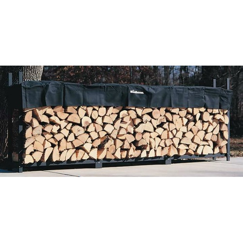 12 Foot Firewood Rack w Standard Cover