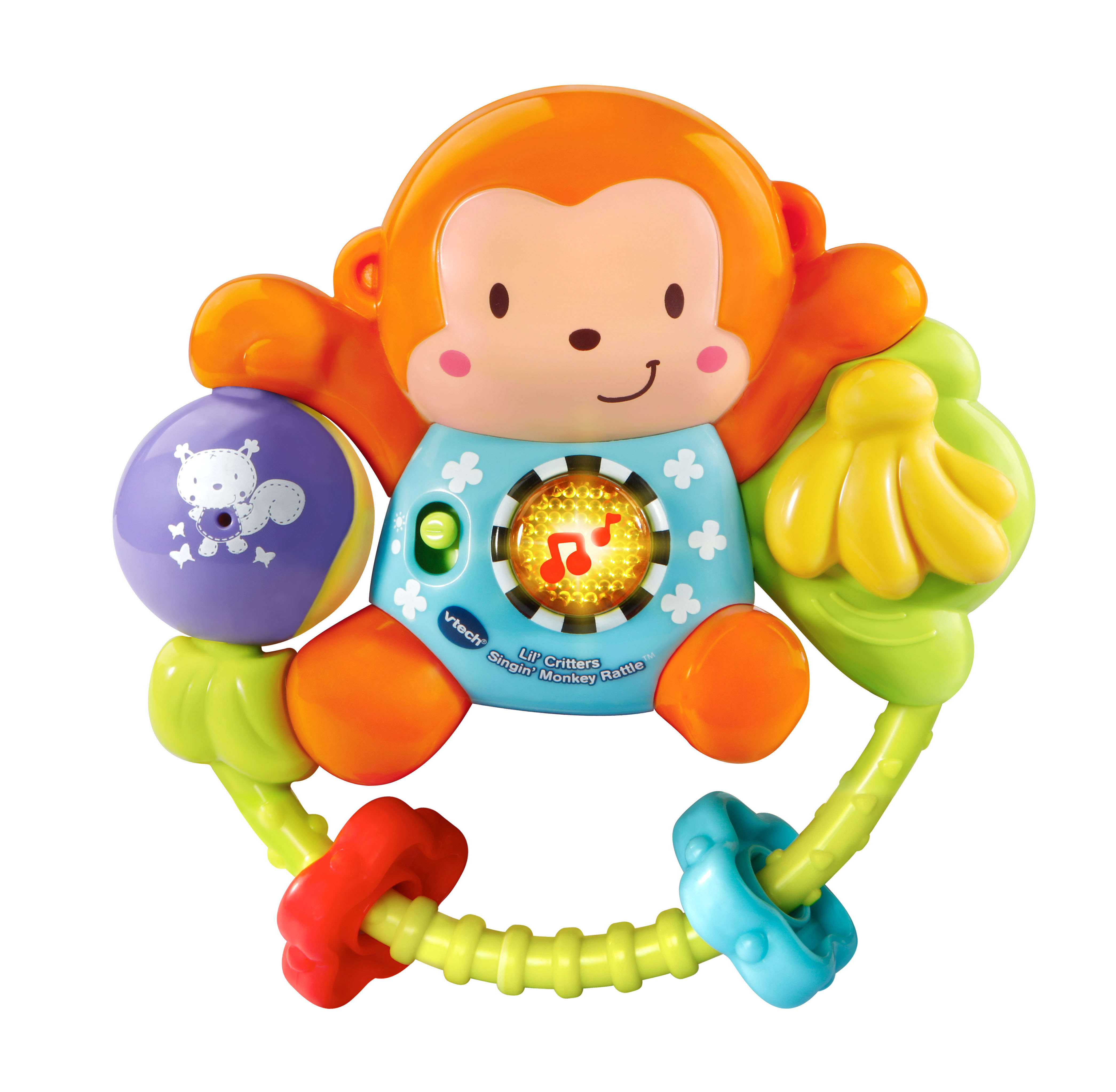 VTech® Lil' Critters Singin' Monkey Rattle™