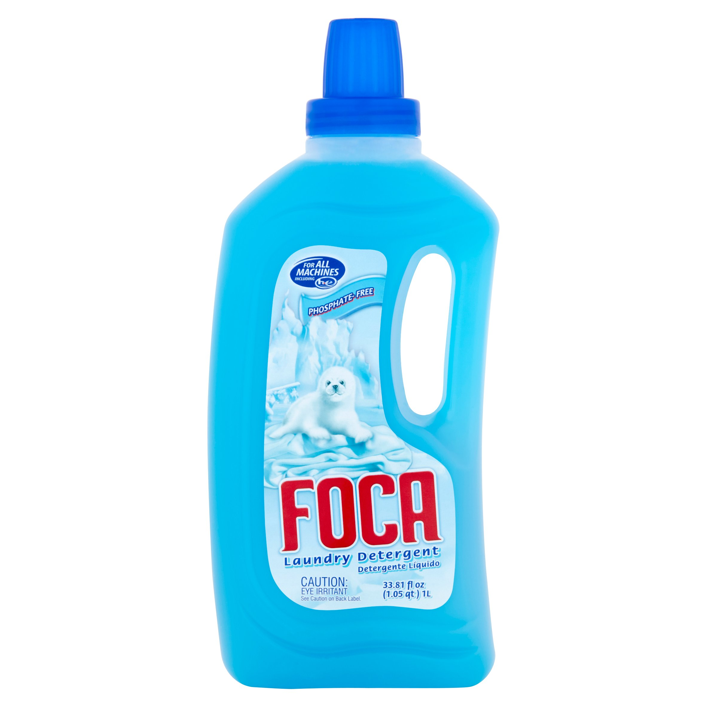 Foca Liquid Laundry Detergent, 33.81 oz