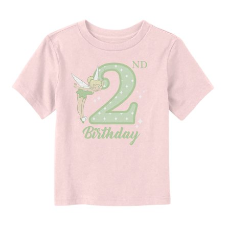 Peter Pan Toddler's Tinker Bell 2nd Birthday T-Shirt (Peter Pan Tinkerbell)