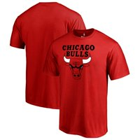 Chicago Bulls Fanatics Branded Big & Tall Primary Logo T-Shirt - Red