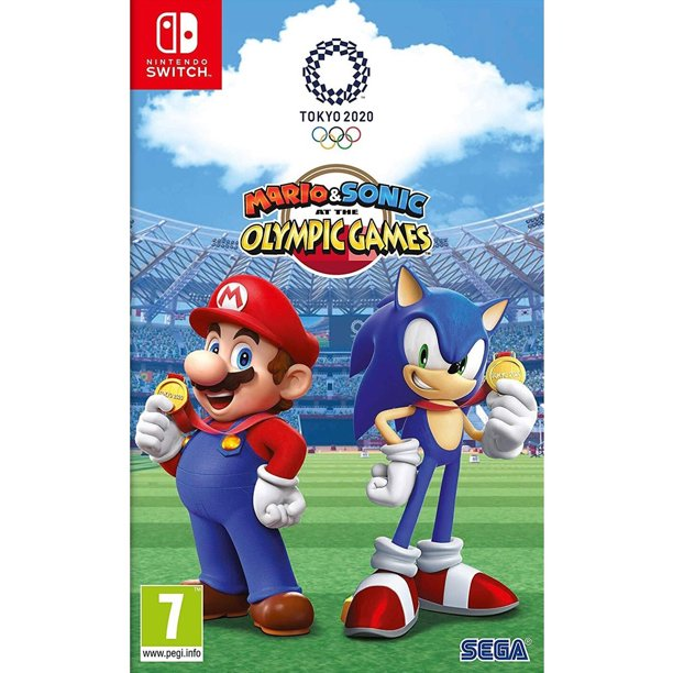 Nintendo Switch Mario Sonic At The Olympic Games Tokyo 2020