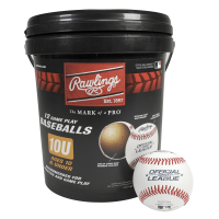 (12 Pack) Rawlings Bucket of 10U Official League CROLB Practice Youth Baseballs