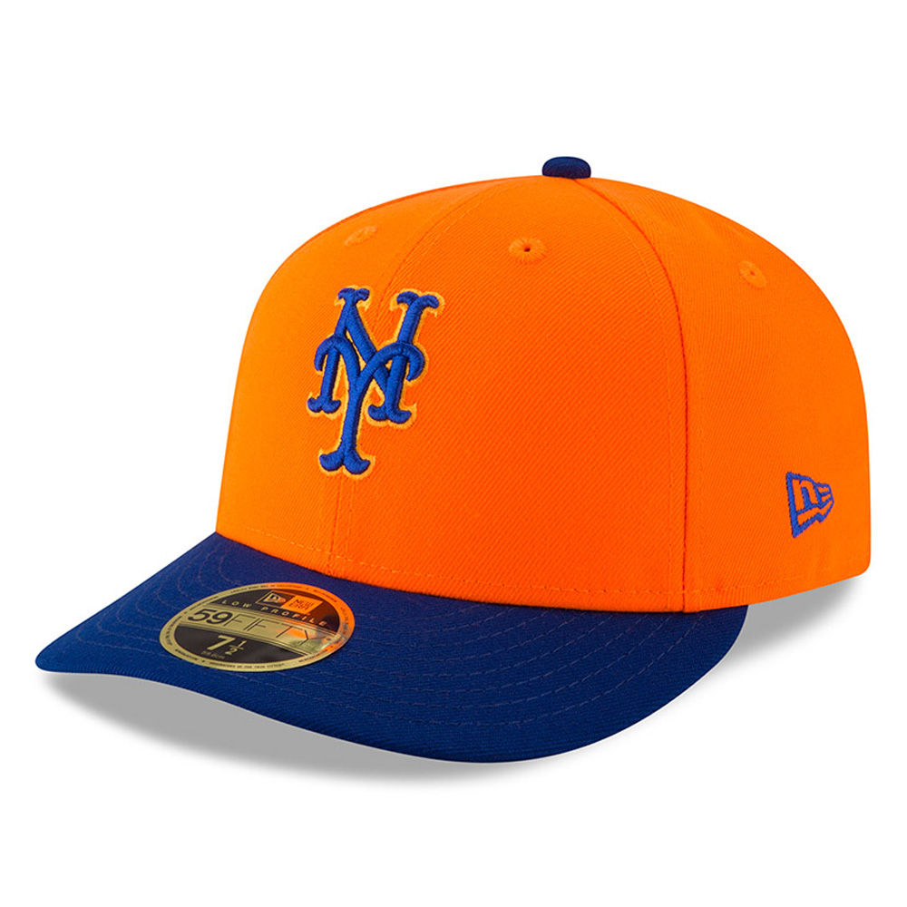 New York Mets New Era 2018 Players' Weekend Low Profile 59FIFTY Fitted Hat - Orange/Royal