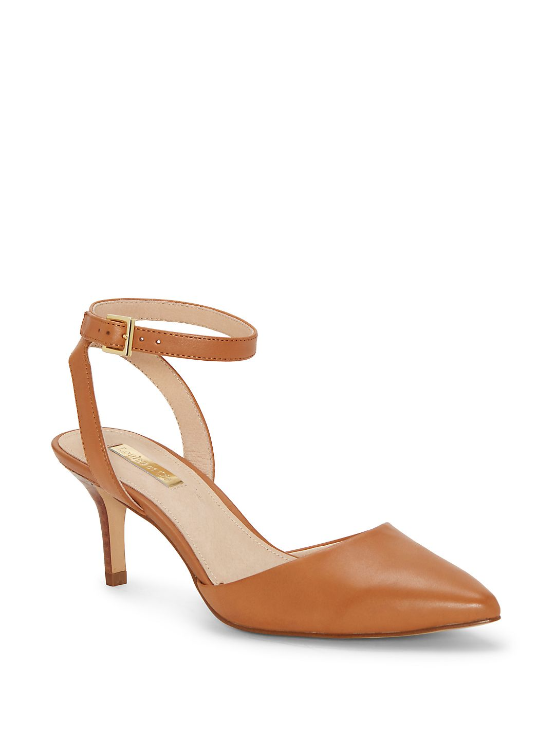 Esperance Ankle-Strap Pumps