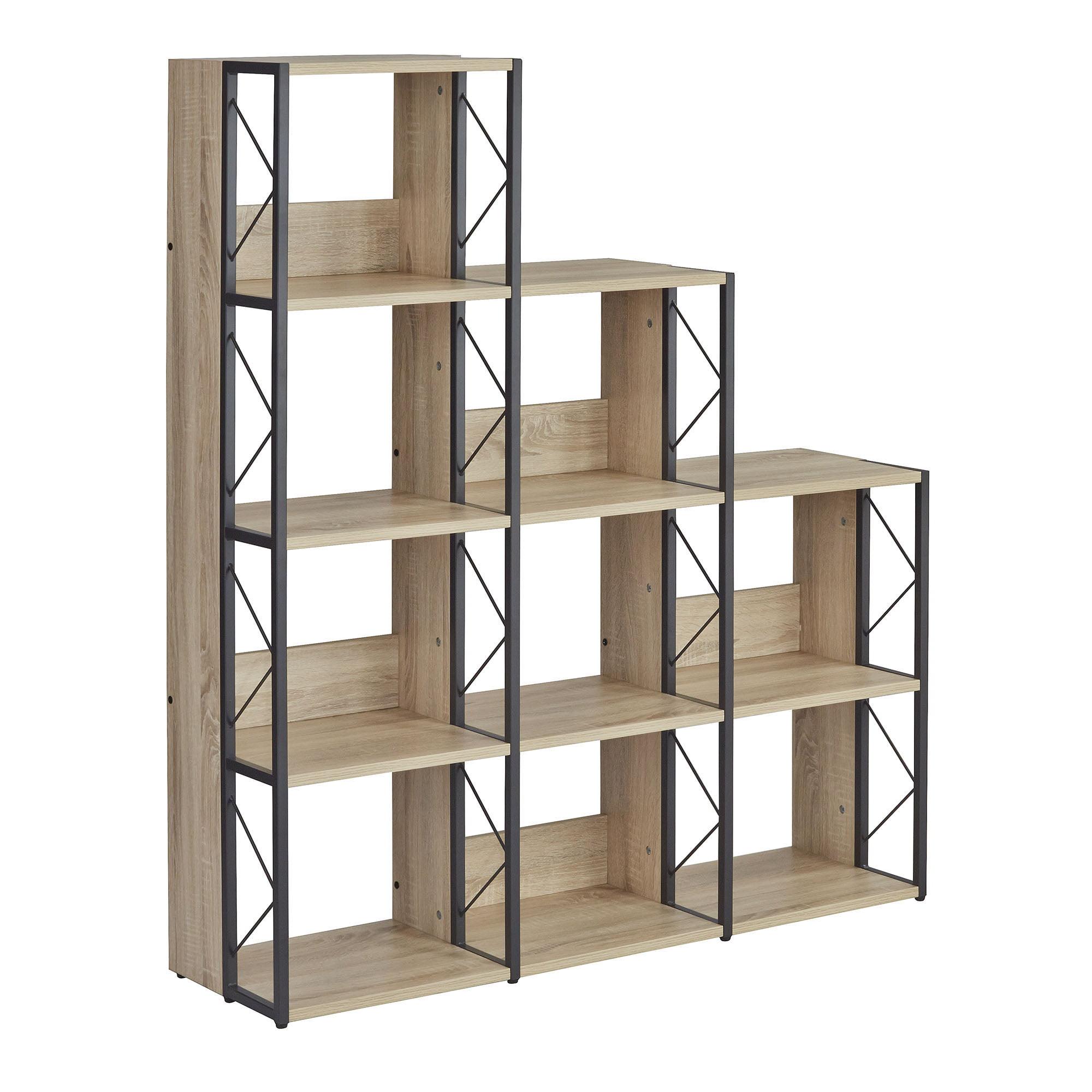 SOHO Multi-Height Bookcase, 9Shelves