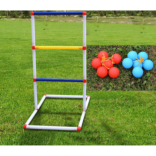 Ladder Ball Toss Game Set Outdoor Patio Backyard Lawn Game PORTABLE NEW BEST