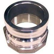 ABBOTT RUBBER QA-300-DC Hose Coupling 3 in FNPT Aluminum