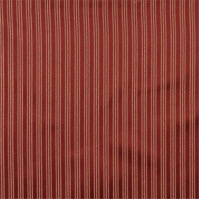 Designer Fabrics E651 54 In Wide Striped Red 44 Gold And Green