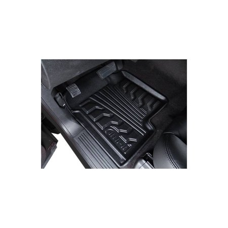 Lund 283114-B Floor Mats For Ford F-150, All-Weather Style, Molded Floor Liner