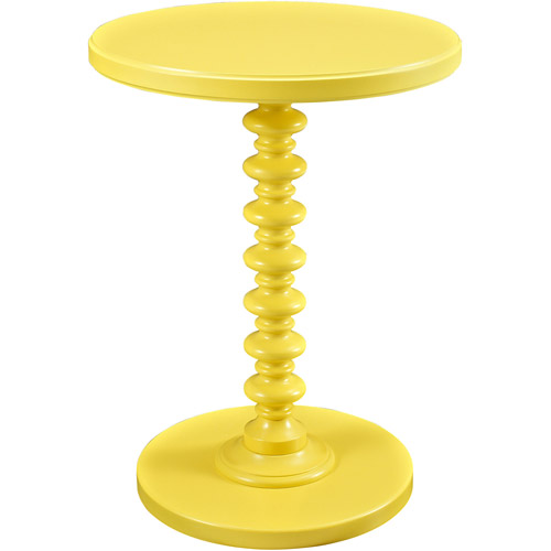 Round Spindle Side Table, Multiple Colors   Walmart.com