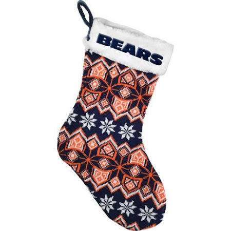 Chicago Bears 2015 Knit Stocking