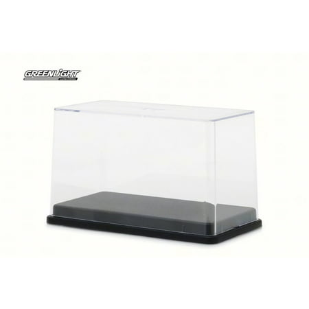 Acrylic Display Case,  - Greenlight 55025 - 1/64 Scale Diecast Model Toy Car