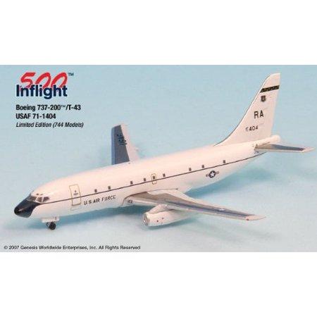 US Air Force Airplane Miniature Model Metal Die-Cast 1:500 Part# -