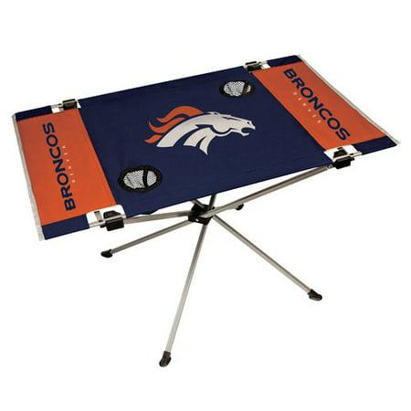 Denver Broncos Glass Table (NFL Denver Broncos