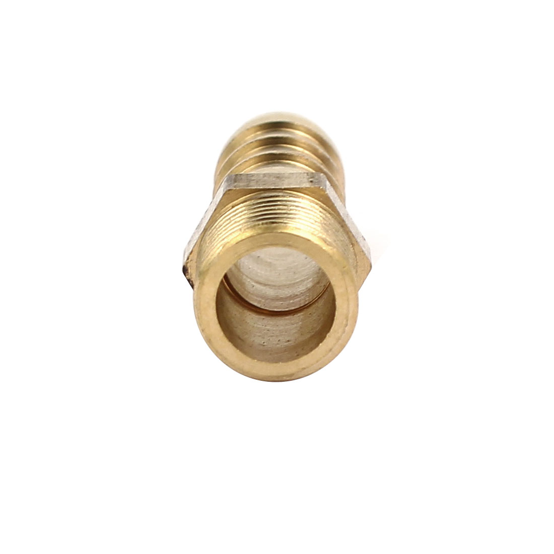 1/8BSP Male Thread 8mm Hose Barb Tube Fitting Coupler Connector Adapter 6pcs - image 1 of 4