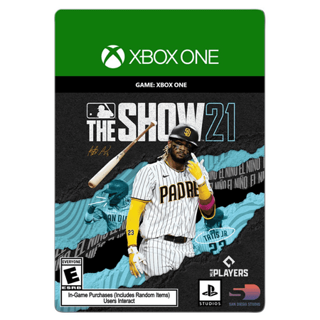 MLB The Show 21: Xbox One Standard Edition, ID@Xbox, XBox [Digital Download]