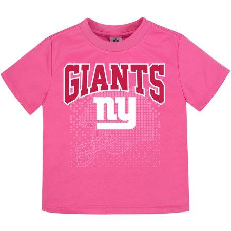 newest d7a4b 05d72 Toddler Gerber Pink New York Giants T-Shirt