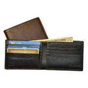 US 711-2 Nappa Soft Slim Wallet with 8 Slits - Brown
