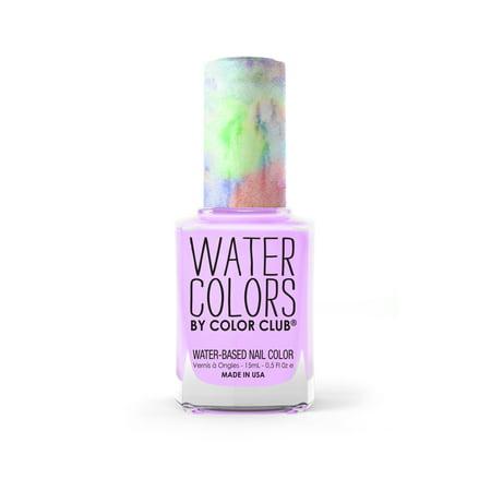 Color Club Water Colors Non-Toxic Nail Color, Make a