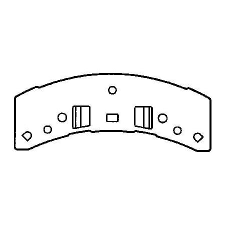Go-Parts » 1988-1999 Chevrolet C1500 Front Disc Brake Pad Set for Chevrolet C1500